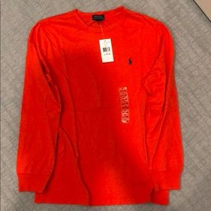 Polo Ralph Lauren boys long sleeve t shirt size L